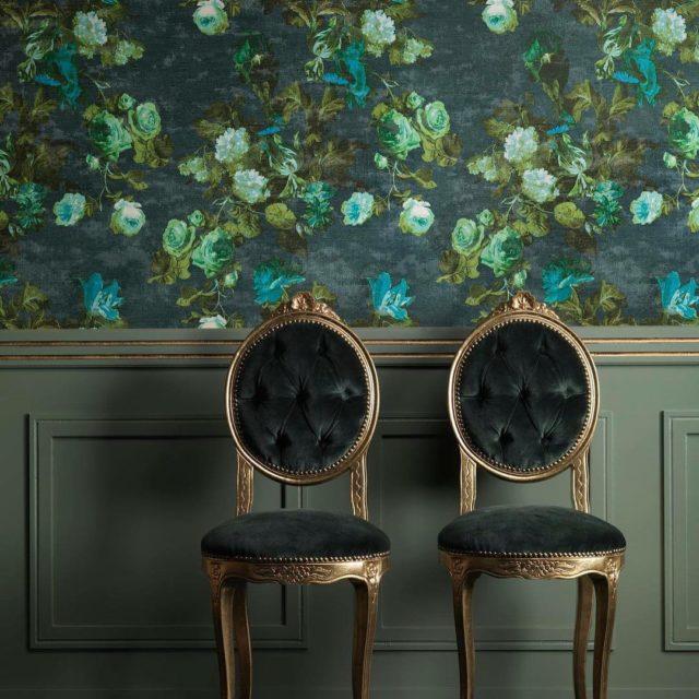 Heyecan verici parlak renkler ve efektlerle tasarlanm duvar katlar Persanhellip
