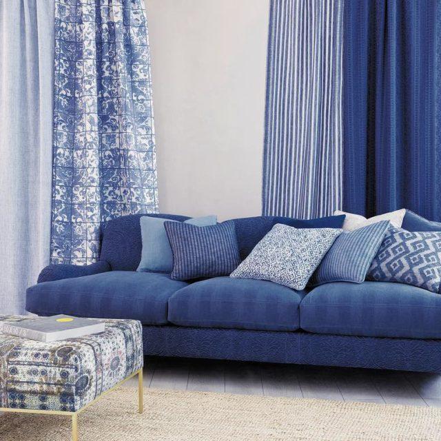 Dekorasyonda mavi tonlarnn huzur veren sofistike etkisini hissetmek iin Denimhellip